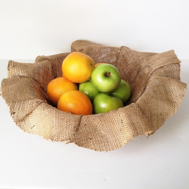Burlap Bowl Tutorial