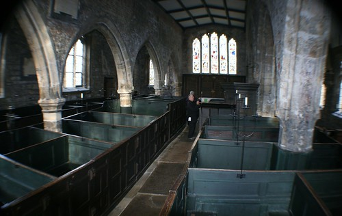 Inside Church of Holy Trinity, York
