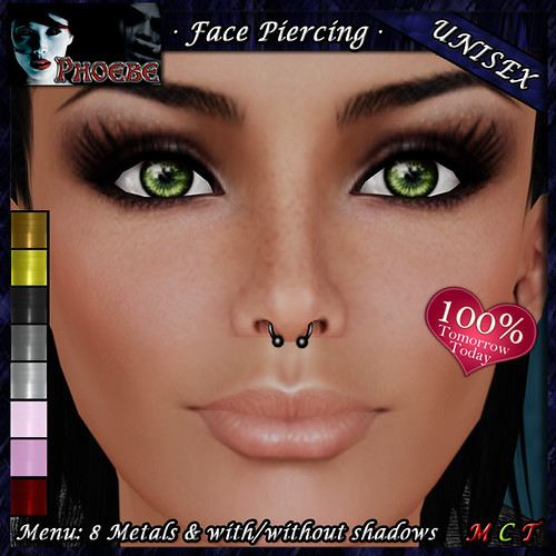 DOLLARBIE - *P* Unisex Face Piercing U4 ~8 Metals~ TOMM TODAY