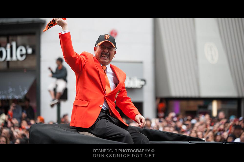 2012 San Francisco Giants Victory Parade
