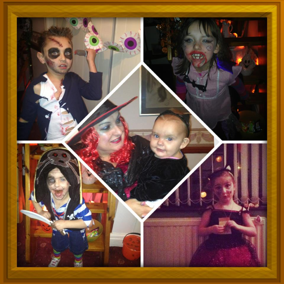 halloween instacollage