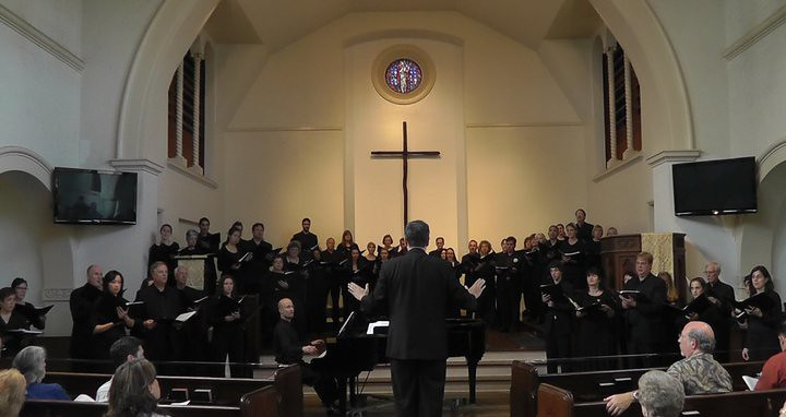 In Los Angeles, I sang with the Pasadena Master Chorale, directed by Jeffrey Bernstein