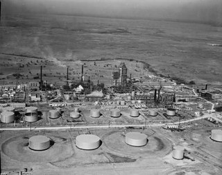 Atlantic Refining Co., Atreco, Texas, Aerial