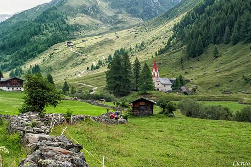 Predoi, loc. Casere - Chiesetta di S. Spirito XV sec. (Prettau - Kasern; Valle Aurina - Ahrntal) by cicrico