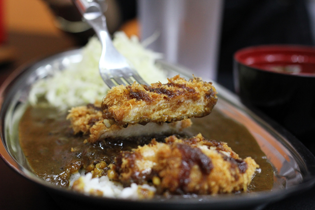 Chicken katsu in Bangkok