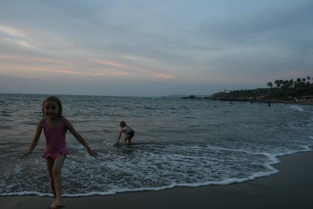 Vagator sunset, Goa