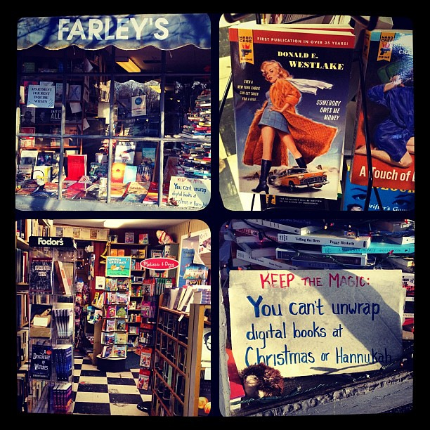 Farley's-- a funky independent book store in New Hope PA
