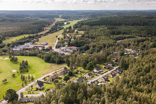 3 sverige swe västragötaland klev flygfoto mårdaklev