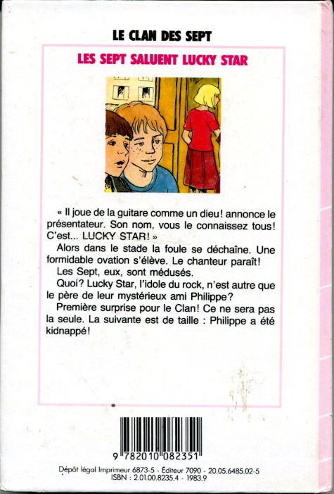 Les Sept saluent Lucky Star, by Evelyne LALLEMAND