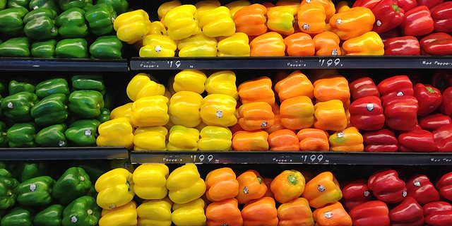 colorful food copy