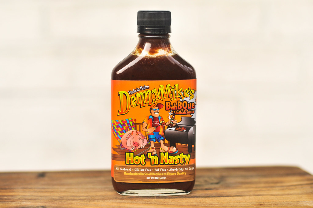 DennyMike's Hot 'n Nasty BahBQue & Slathah Sauce Review