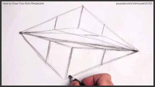 2D design how to draw in two point perspective 008