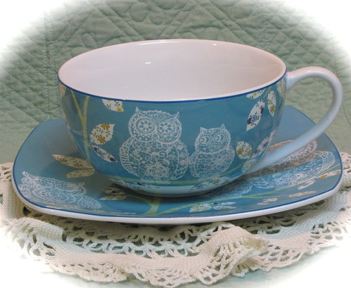 Lacey Owls Teacup