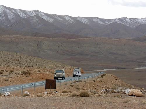 """Paisajes """"altiplánicos"""" en el Medio Atlas (Marruecos)"""