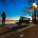 Sunset bench by Nick-K (Nikos Koutoulas)