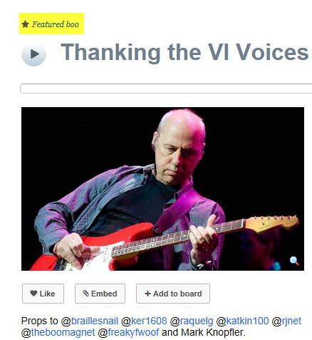 Thanking VI Voices