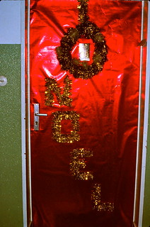 West Germany   -   Crailsheim   -   McKee Barracks   -   Bldg 209 A5   -   Our Christmas Door   -   December 1979