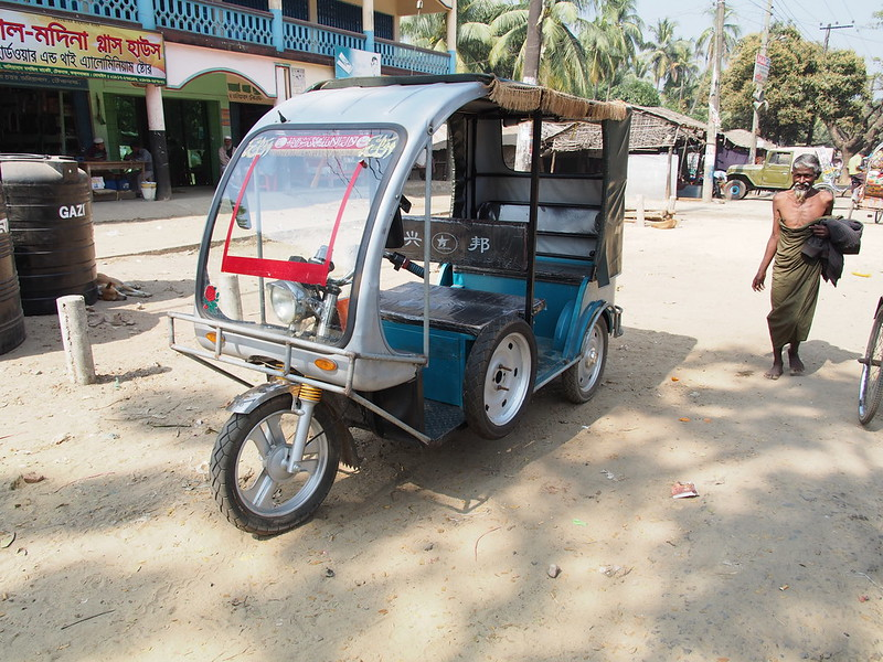 Chinese Made Electric Rikshaw