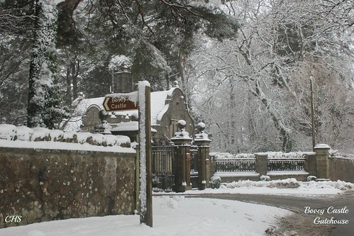 Bovey Castle Gatehouse -   Dartmoor - 23rd January 2013 by Stocker Images
