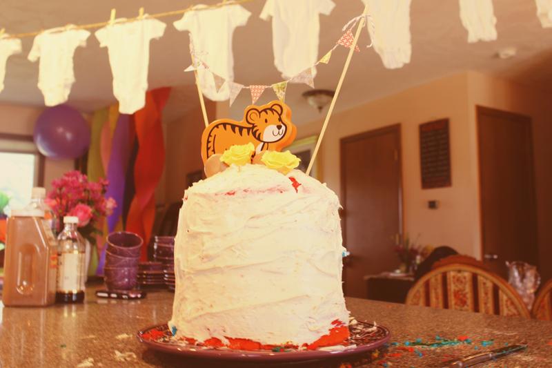 {baby shower} cake