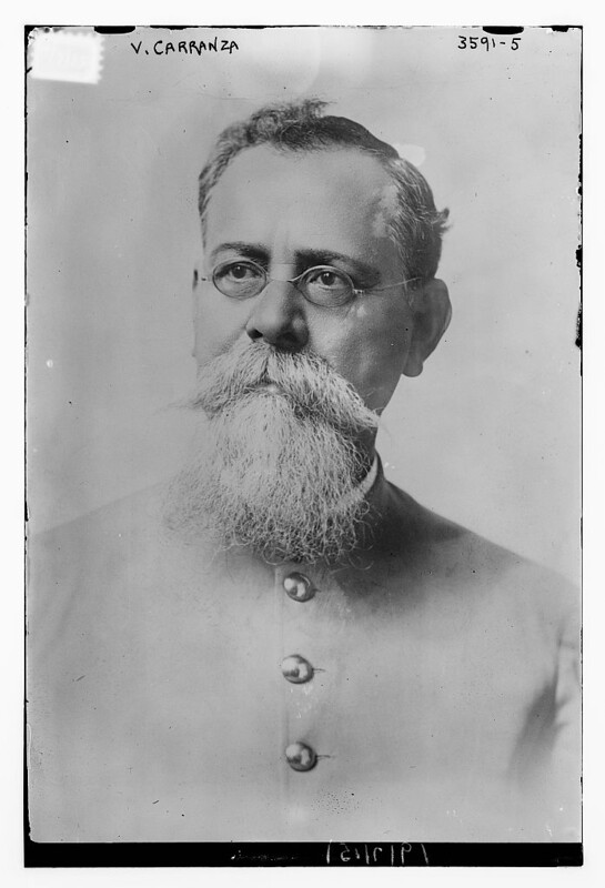 V. Carranza  (LOC) by The Library of Congress
