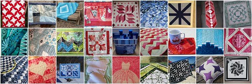 Projects Created for the Second Project QUILTING Challenge - My Favorite Color