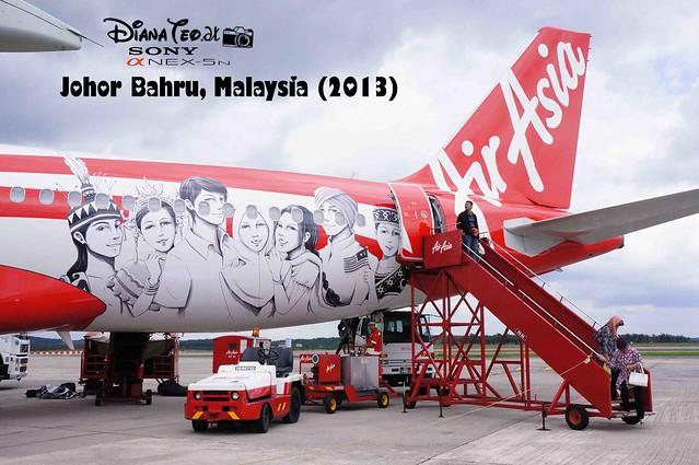 1Malaysia AirAsia aircraft