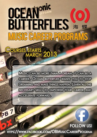 WDA ocean butterflies music career program