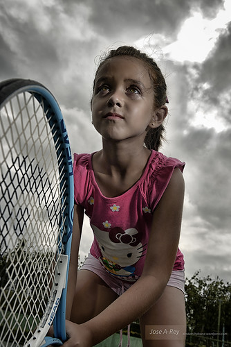 Strobist at Tennis court...Havana by Rey Cuba