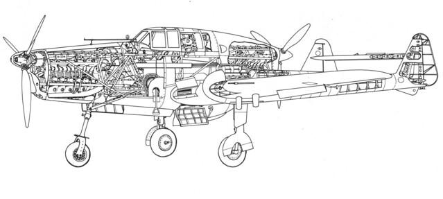 Fokker D.23 cutaway 2