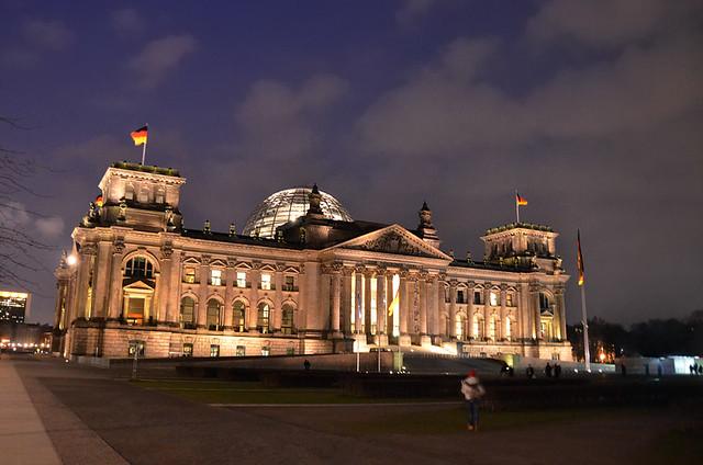 Reichstag de Berlín. El parlamento Alemán