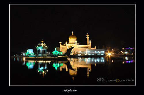 #shu-reflection-brunei-omar ali mosque