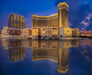 Macau Venetian & Sunset