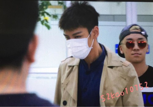 Big Bang - Gimpo Airport - 07jun2015 - TOP - S2kao107S2 - 01