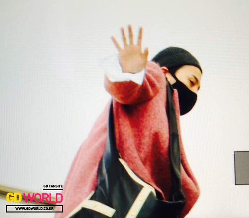 Big Bang - Harbin Airport - 22mar2015 - G-Dragon - GD World - 02