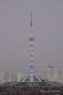 Ashgabat - Constitution Monument