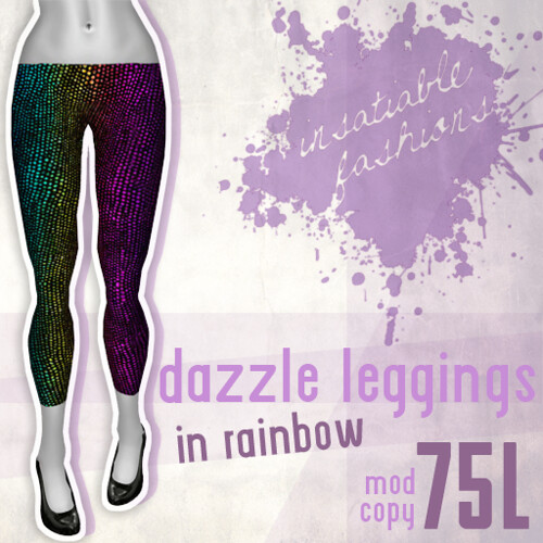 [IF] Dazzle Leggings - [Rainbow]