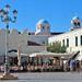 Main square, Kos Town by Gill Stafford