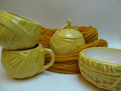 The ceramic yarn collection: Sunshine Yellow