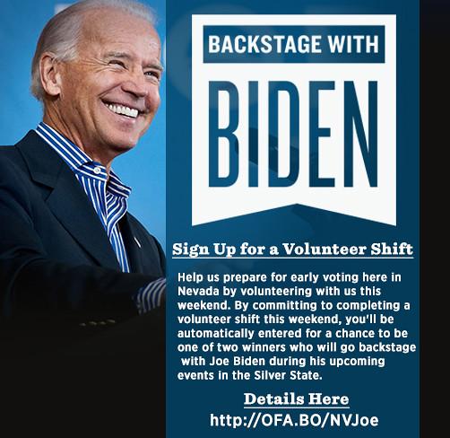 Biden-Volunteer