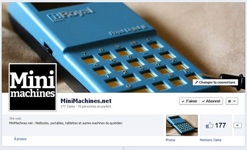 FaceBook Minimachines.net