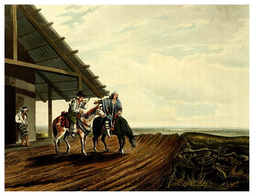 022-Viajeros en una pulperia-Picturesque illustrations of Buenos Ayres and Monte Video..-1820- Emeric Essex Vidal