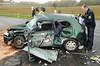 Schwerer Verkehrsunfall B275 Eschenhahn 12.10.12