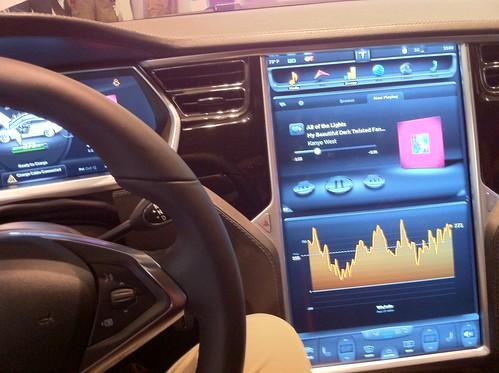 Tesla Series S - Computer Panel
