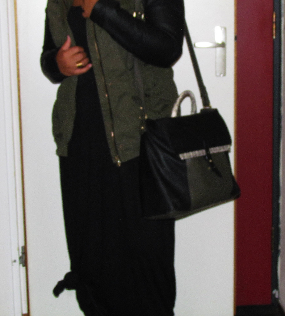 New Look, Contrast jacket, Leather Sleeves, Zara, Supertrash, Primark, Outfit of the day, OOTD