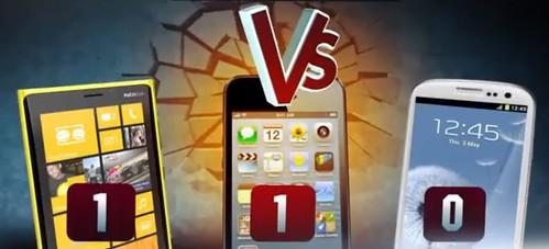 Nokia Lumia 920 vs iPhone 5 vs Samsung Galaxy S3