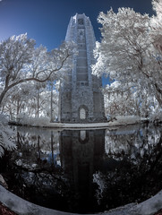 Bok Tower and reflection
