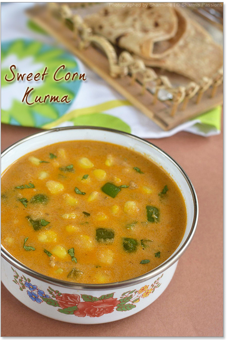 Sweet Corn Kurma Recipe