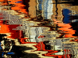 October water reflections