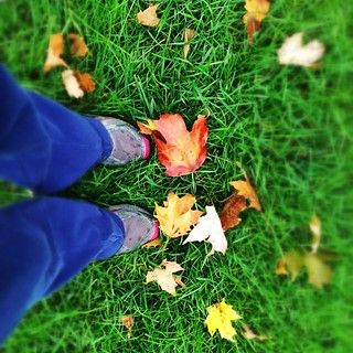 Morning #run with my mom. #jersey #fromwhereistand #autum